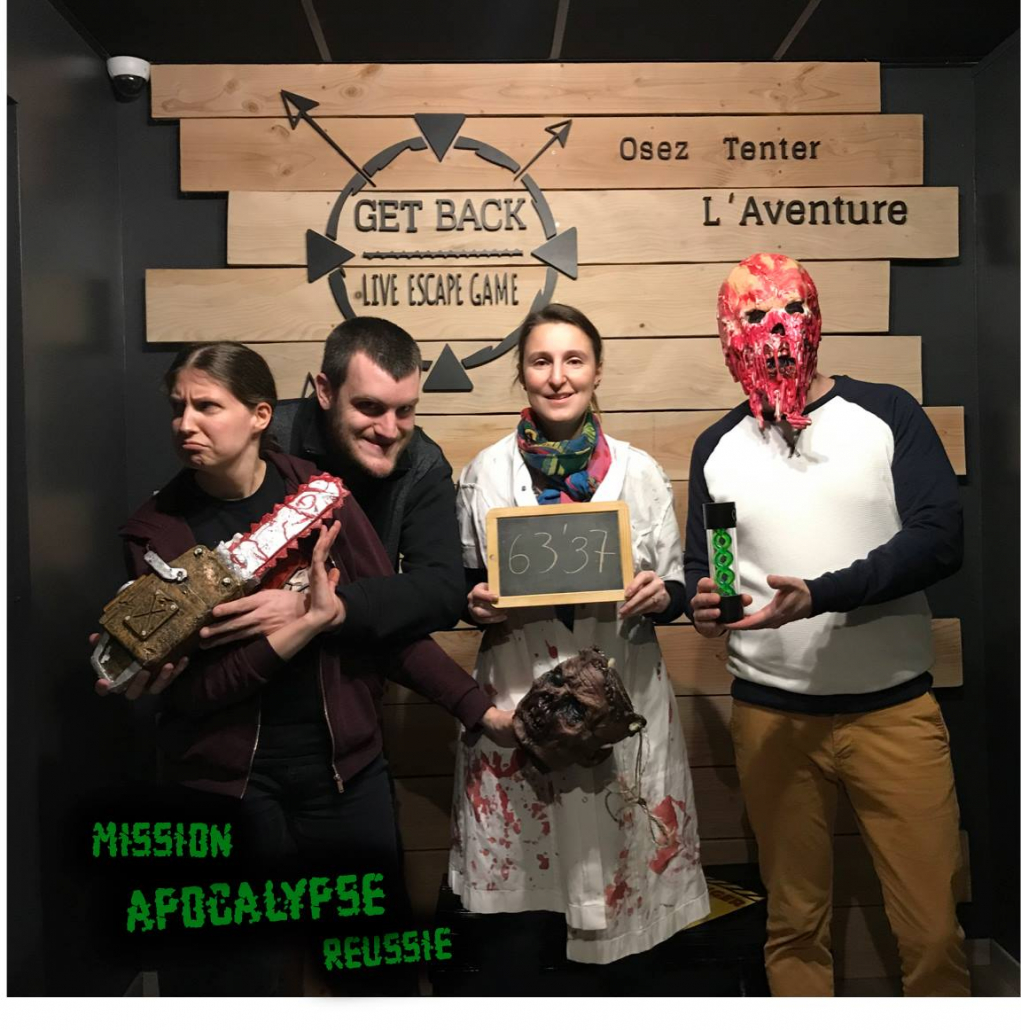 Apocalypse - Get Back - Photo groupe