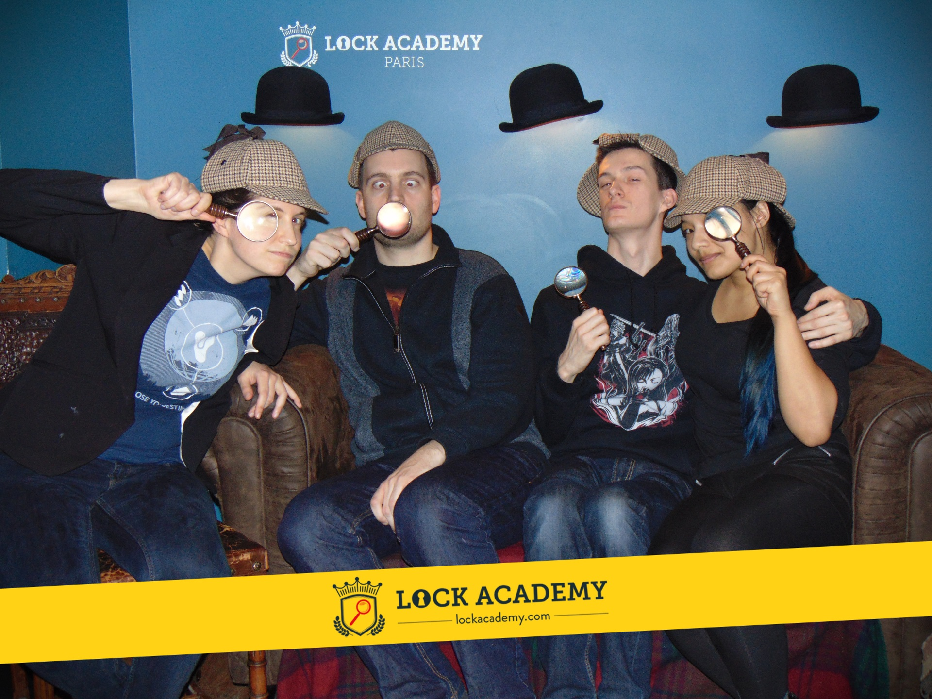 LA Confidential - Lock Academy - Photo groupe