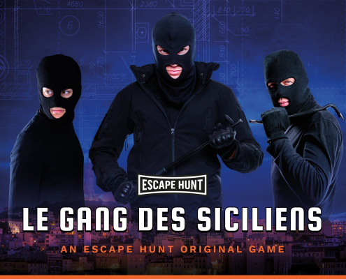 Le Gang des Siciliens - Escape Hunt Marseille