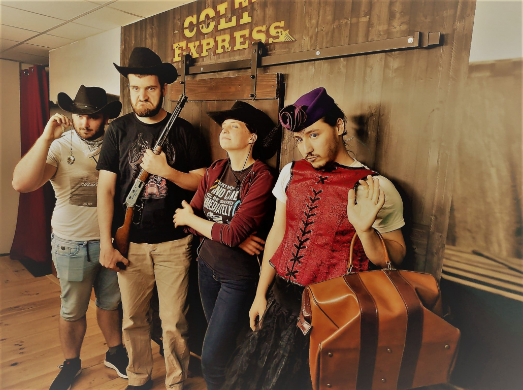 Colt Express Escape Mind photo groupe